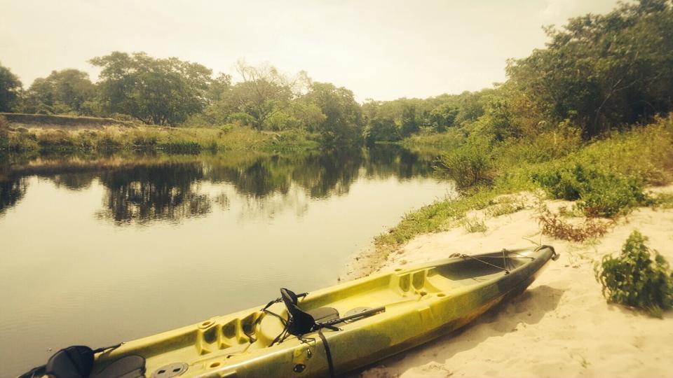 Canoagem no rio Cipó com a BAMBU AVENTURA